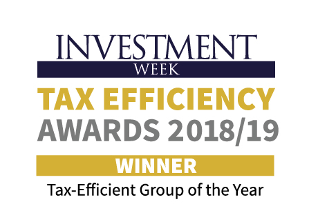 Investment Week Tax Efficiency Awards 2018/2019
