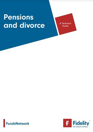 Pension and divorce - a technical guide